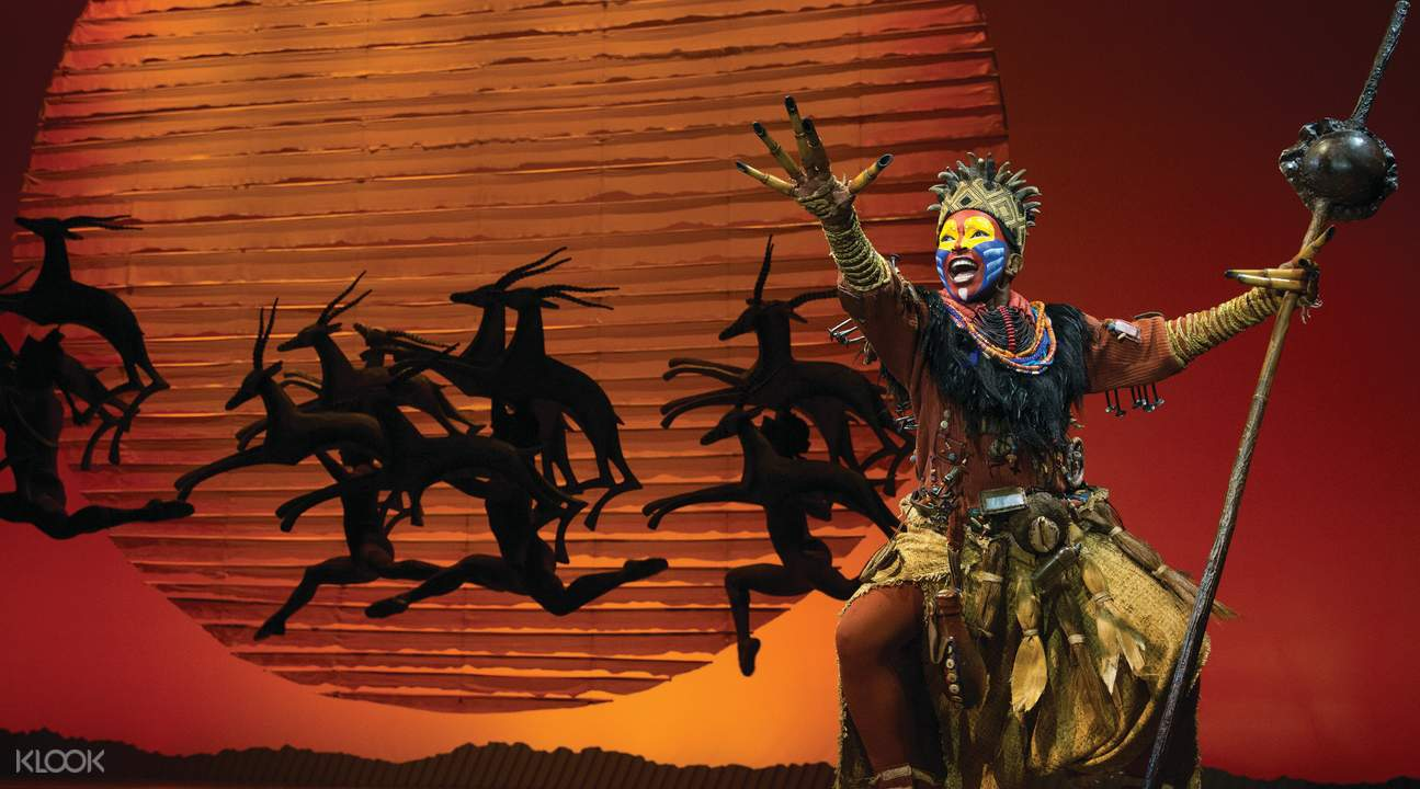 The Lion King Broadway Show songs