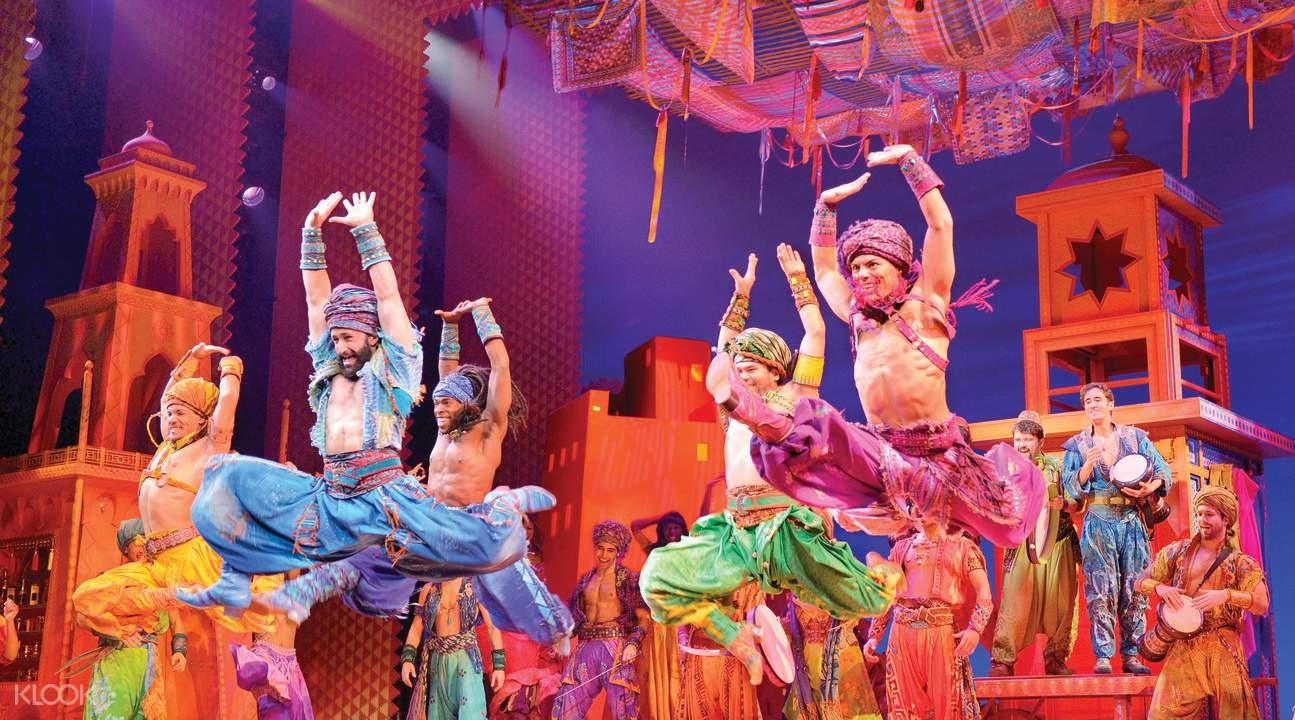 阿拉丁音樂劇舞蹈