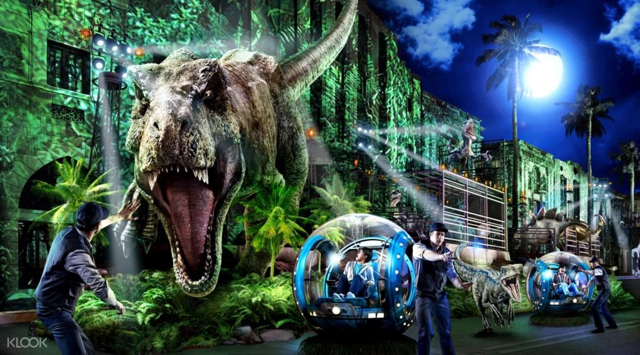 日本环球影城侏罗纪公园