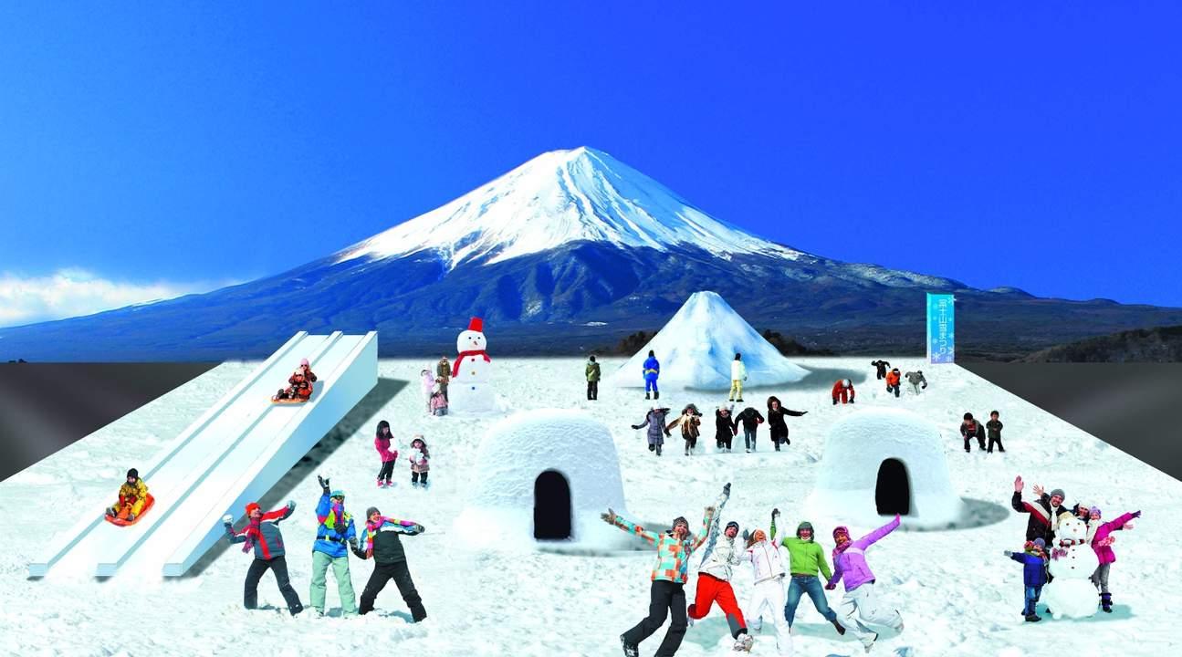 富士山雪橇体验