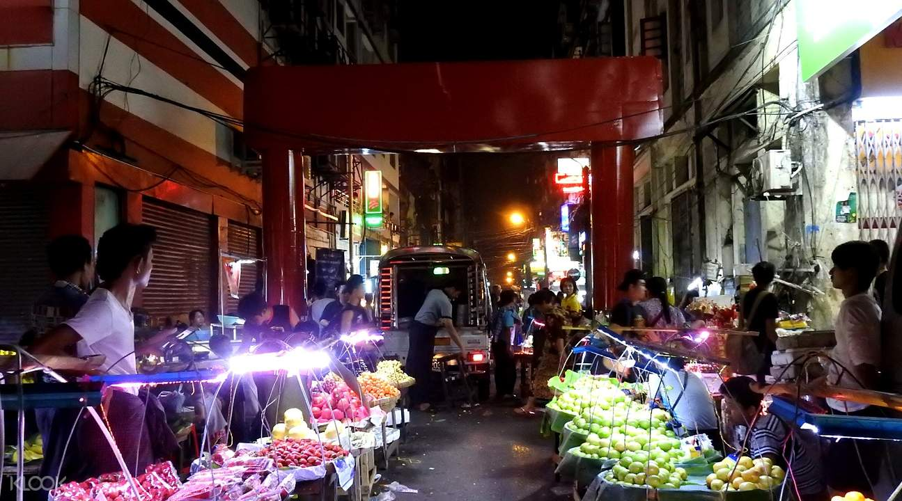 chinatown Insein Private Tour by Train from Yangon, Myanmar