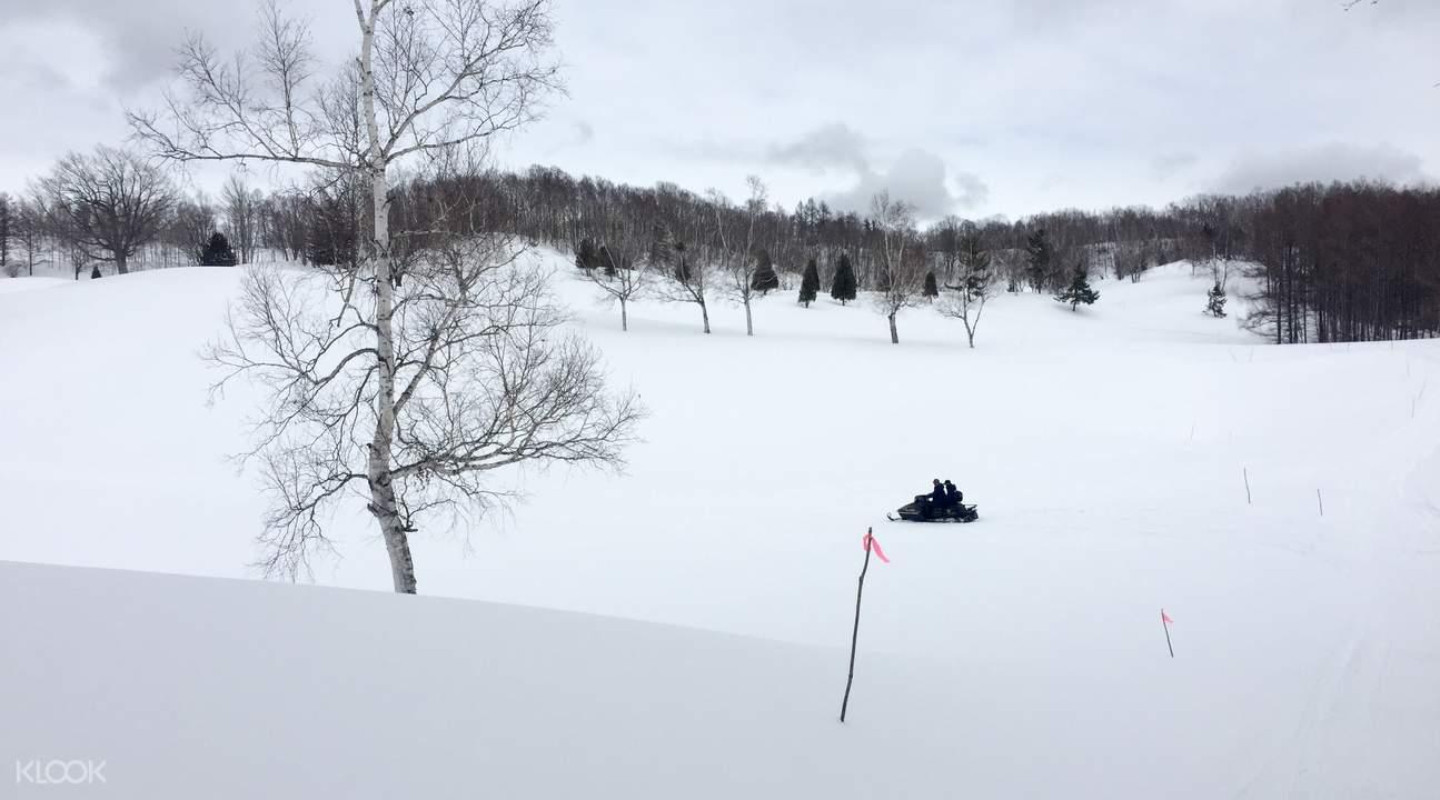 sapporo snowmobile 1 hour