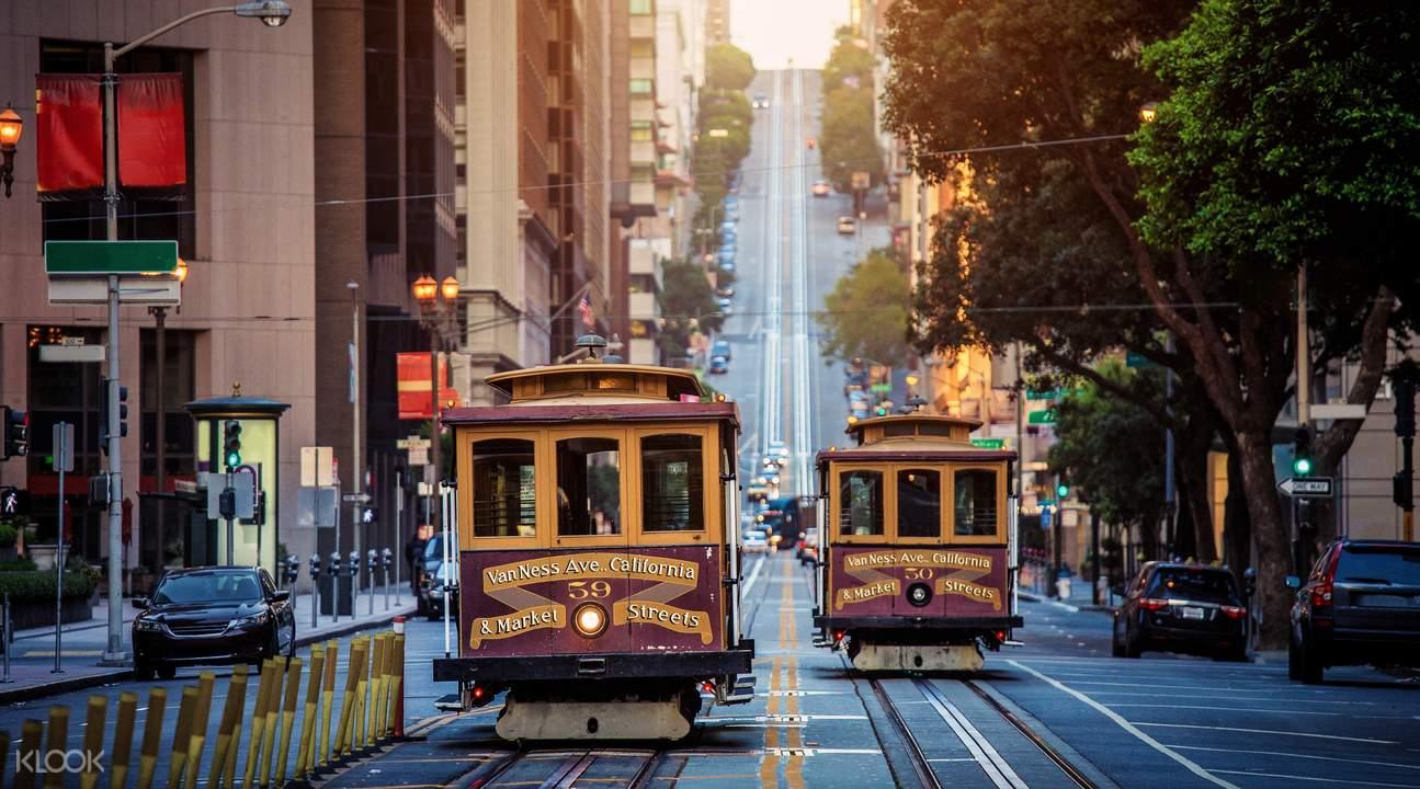 旧金山市区景观