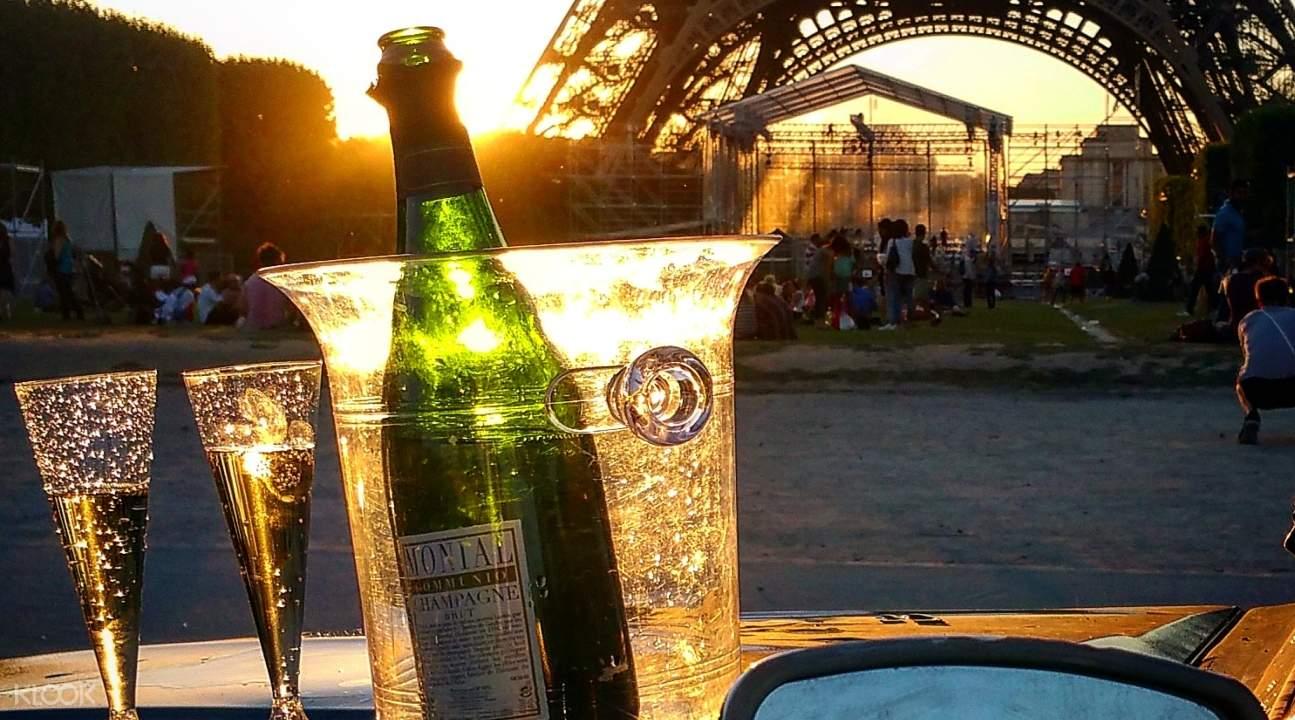 巴黎夜遊,citroen 2cv巴黎夜遊,法國巴黎旅遊,巴黎敞篷車夜遊,巴黎旅遊景點