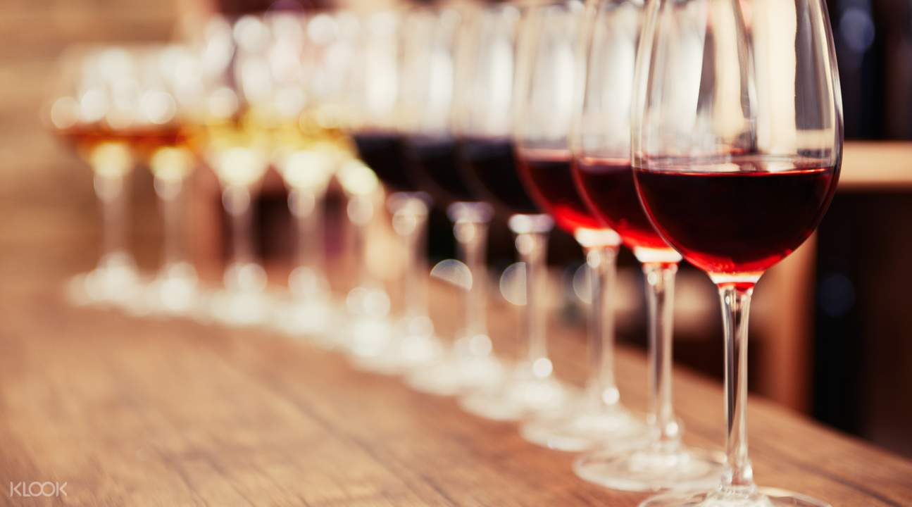 wine selection on the wine tasting experience transfer tours to nelson