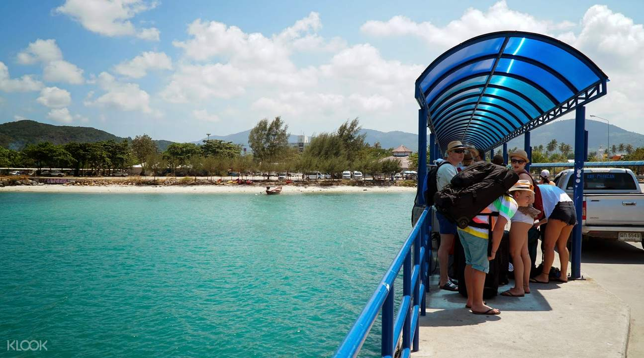 Lomprayah One Way Ferry Ticket between Krabi/Ao Nang and Koh Phangan Thailand
