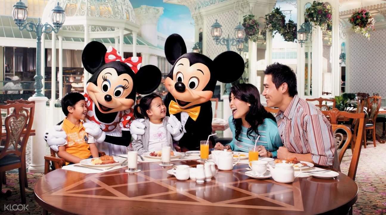 香港迪士尼樂園酒店套票