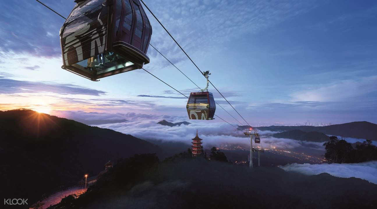 云顶高原Awana SkyWay 缆车