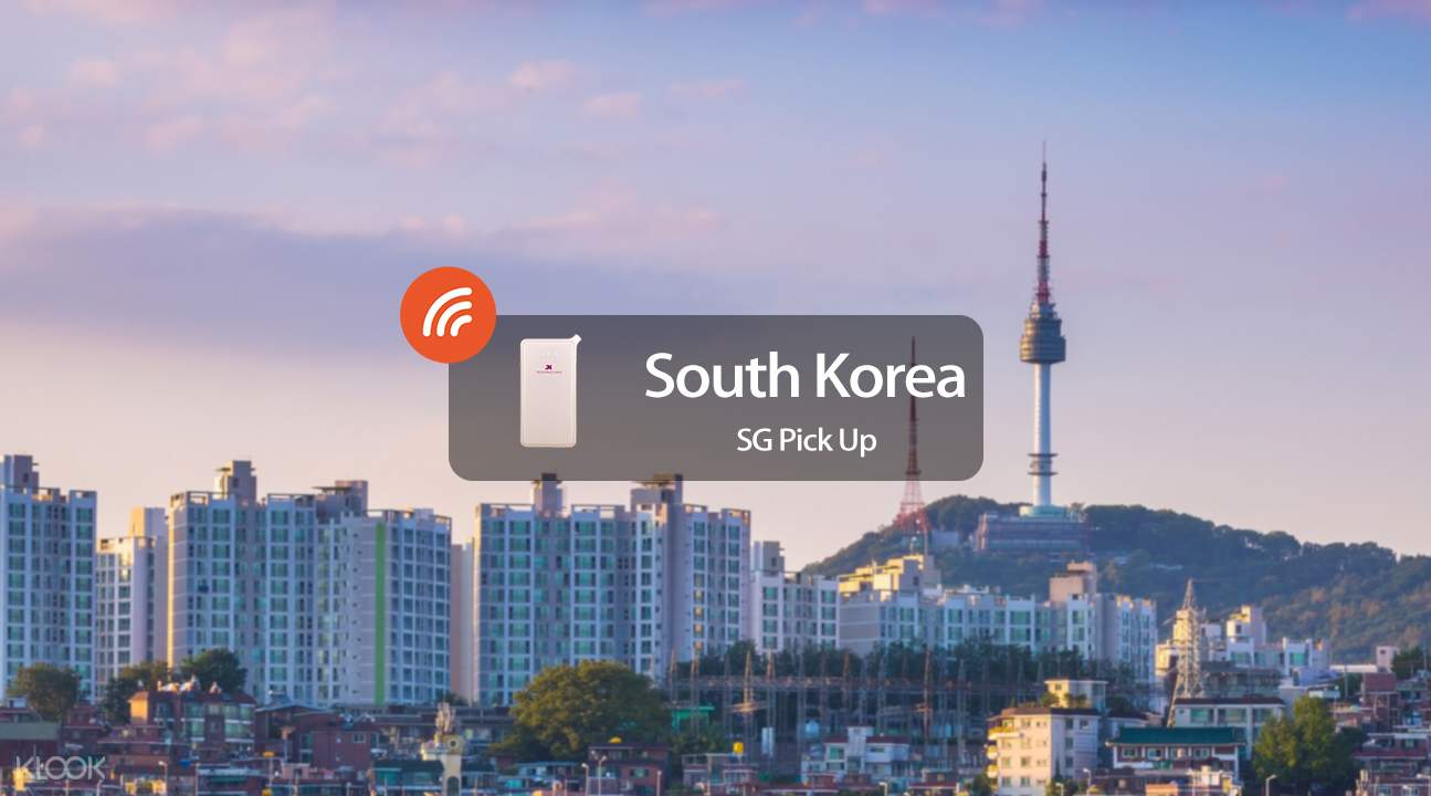 4G WiFi (SG Pick Up) for South Korea - Klook