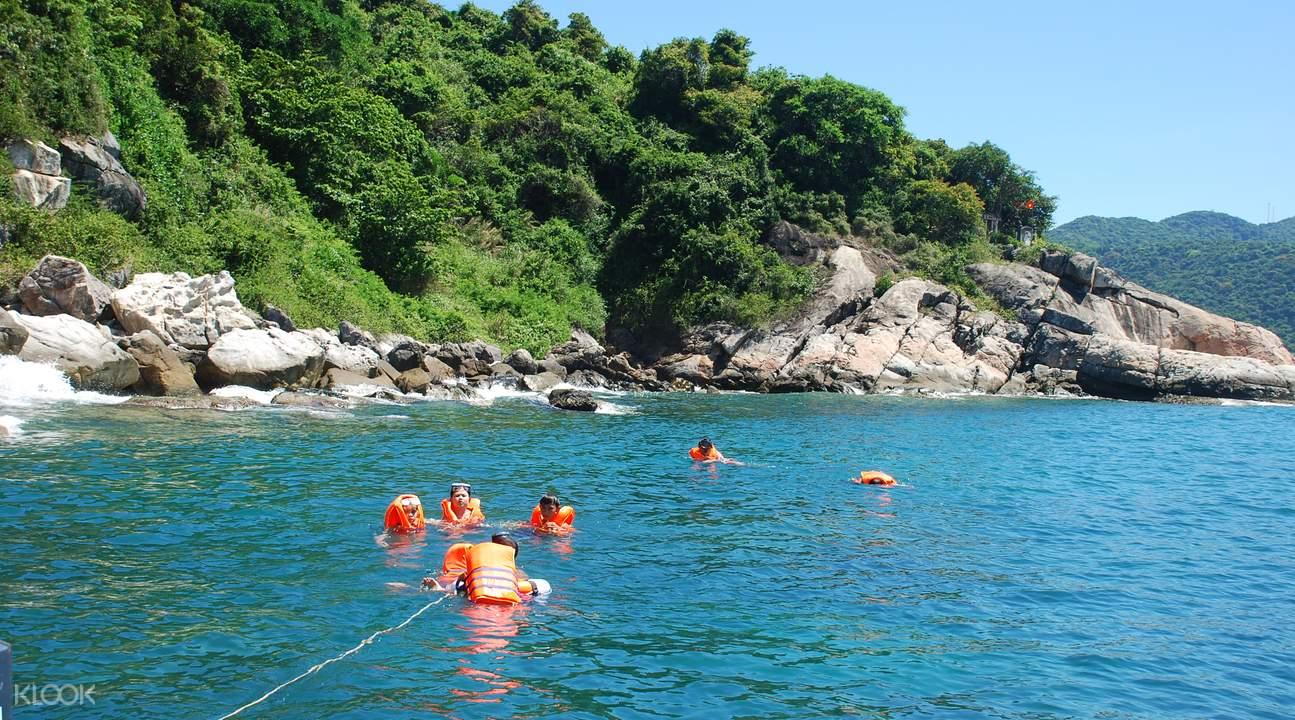 富國島游泳