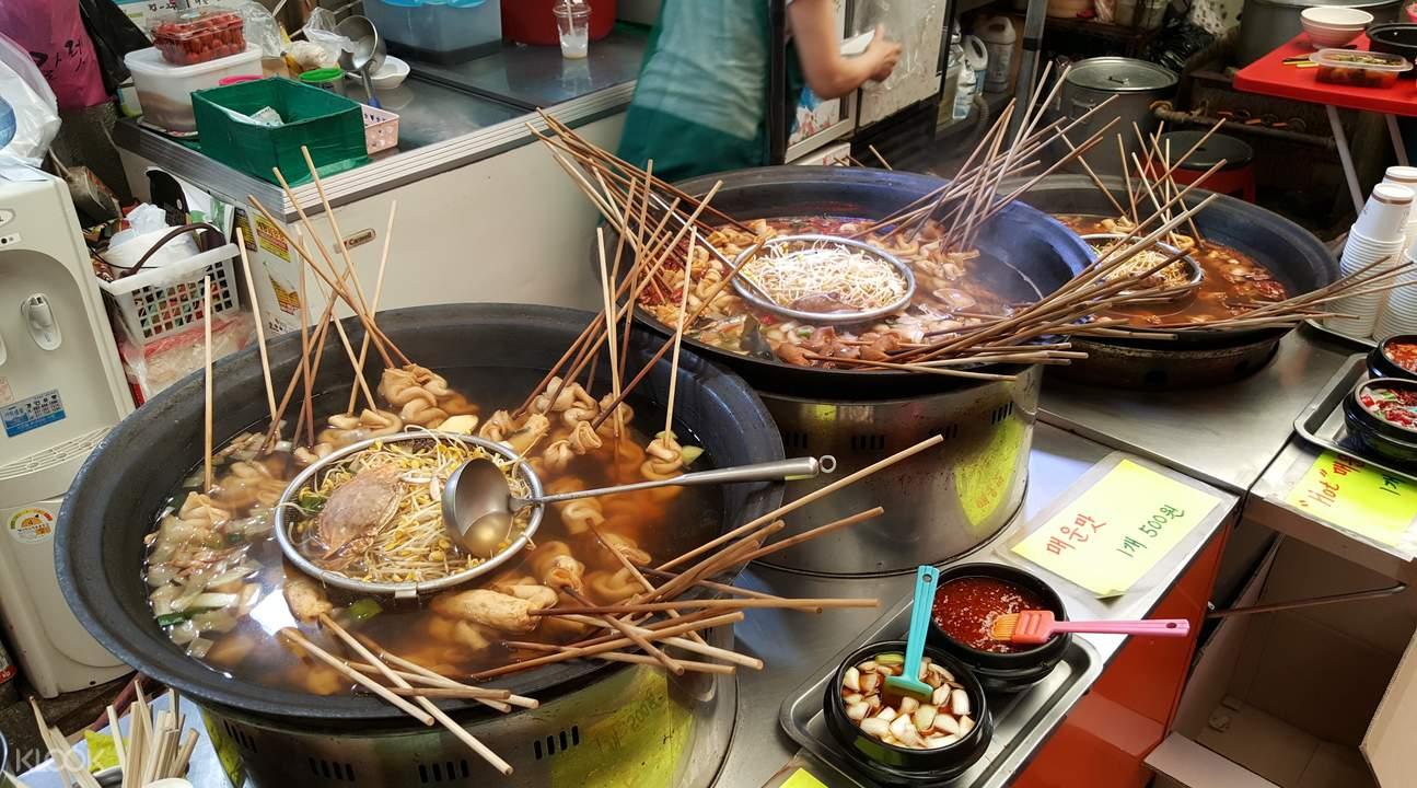 仁川美食购物一日游 新基市场 (新起市场) & 现代名牌奥特莱斯
