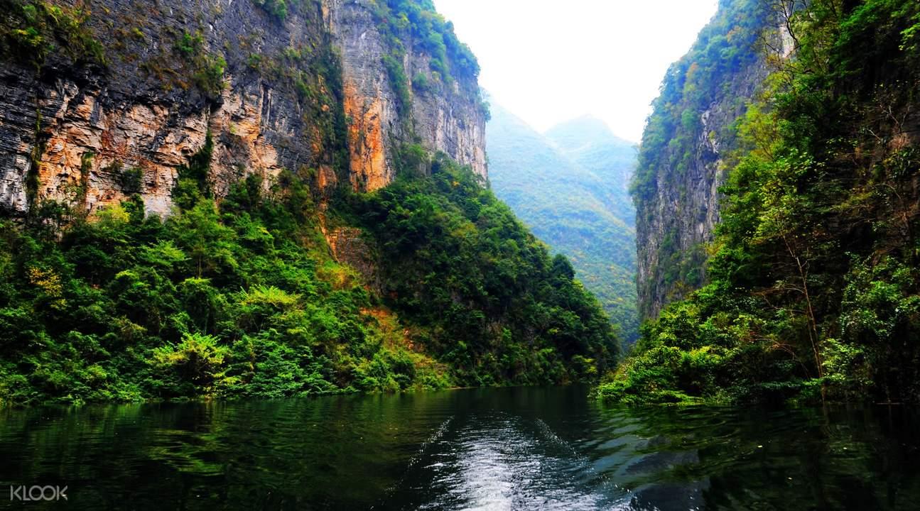 yunyang longgang national geological park chongqing