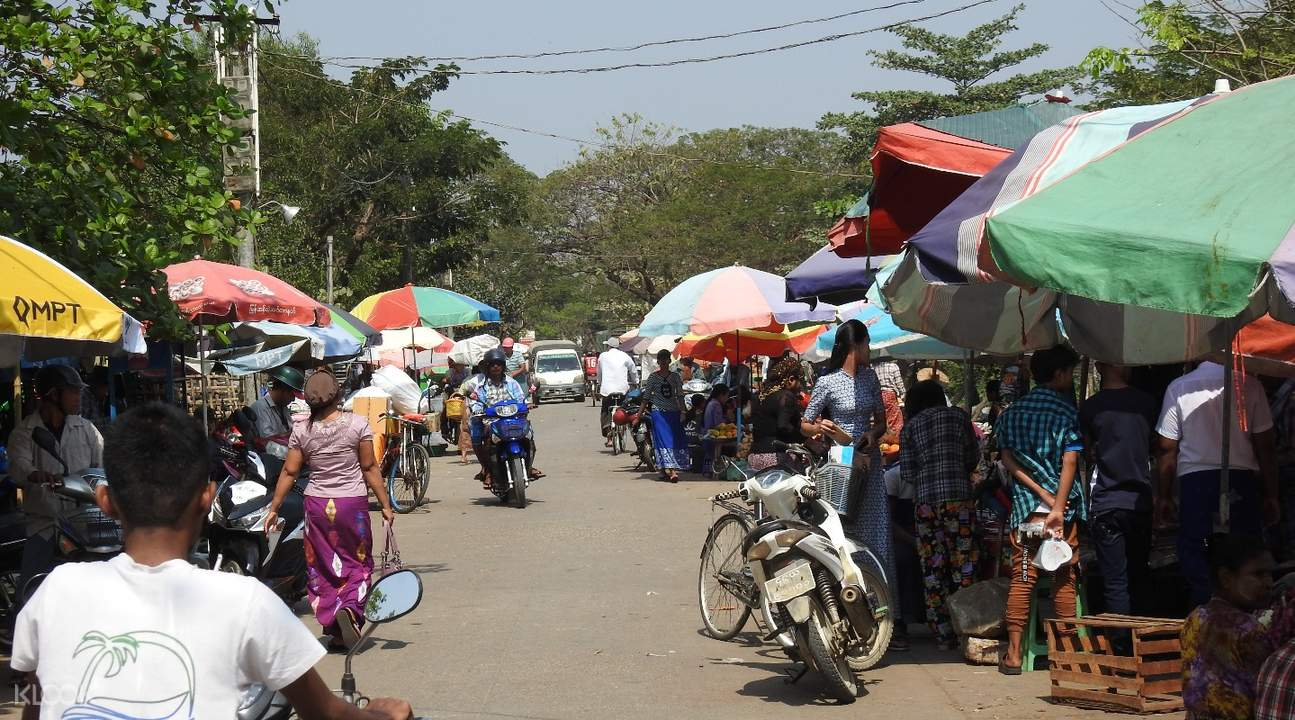 insein market Insein Private Tour by Train from Yangon, Myanmar