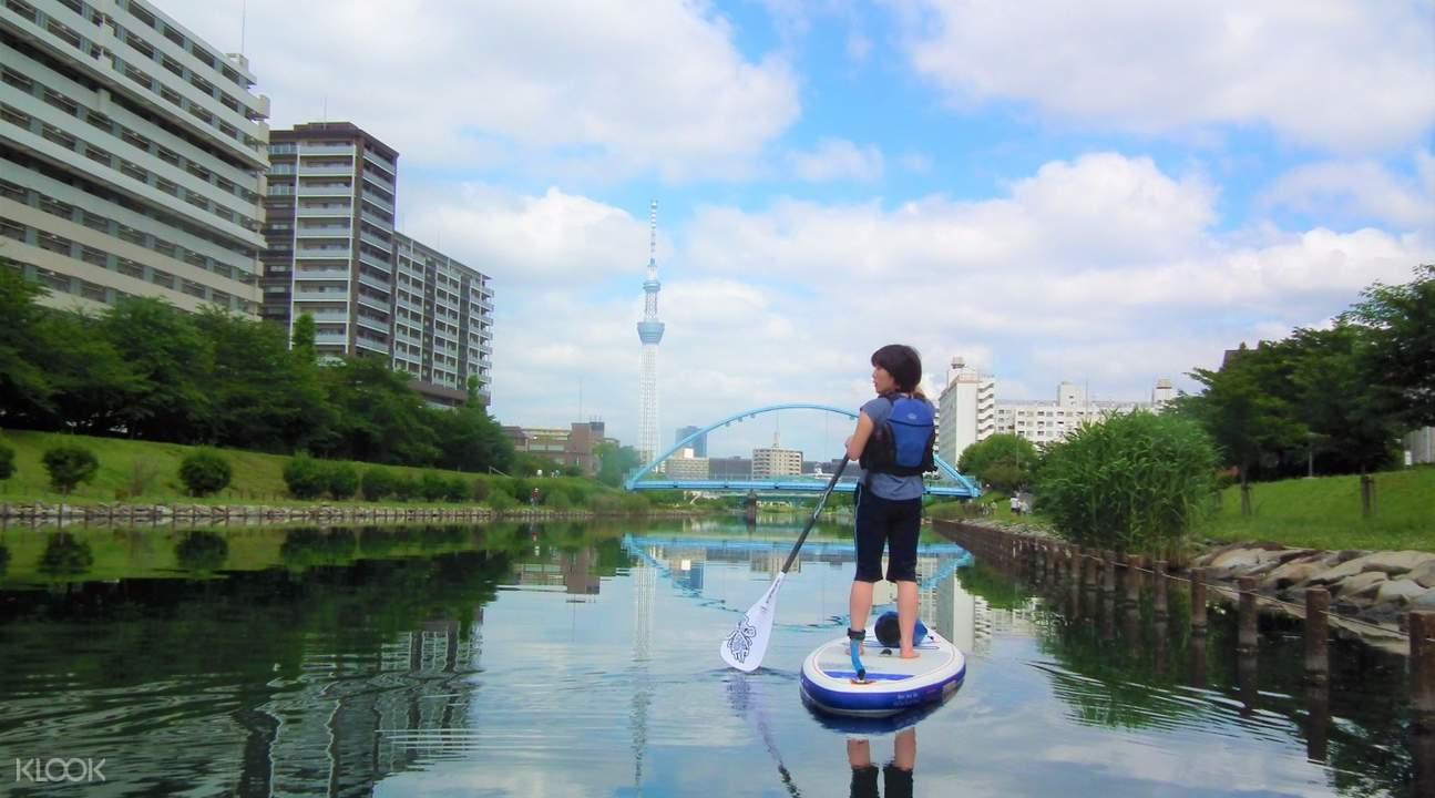 東京SUP立漿運動體驗