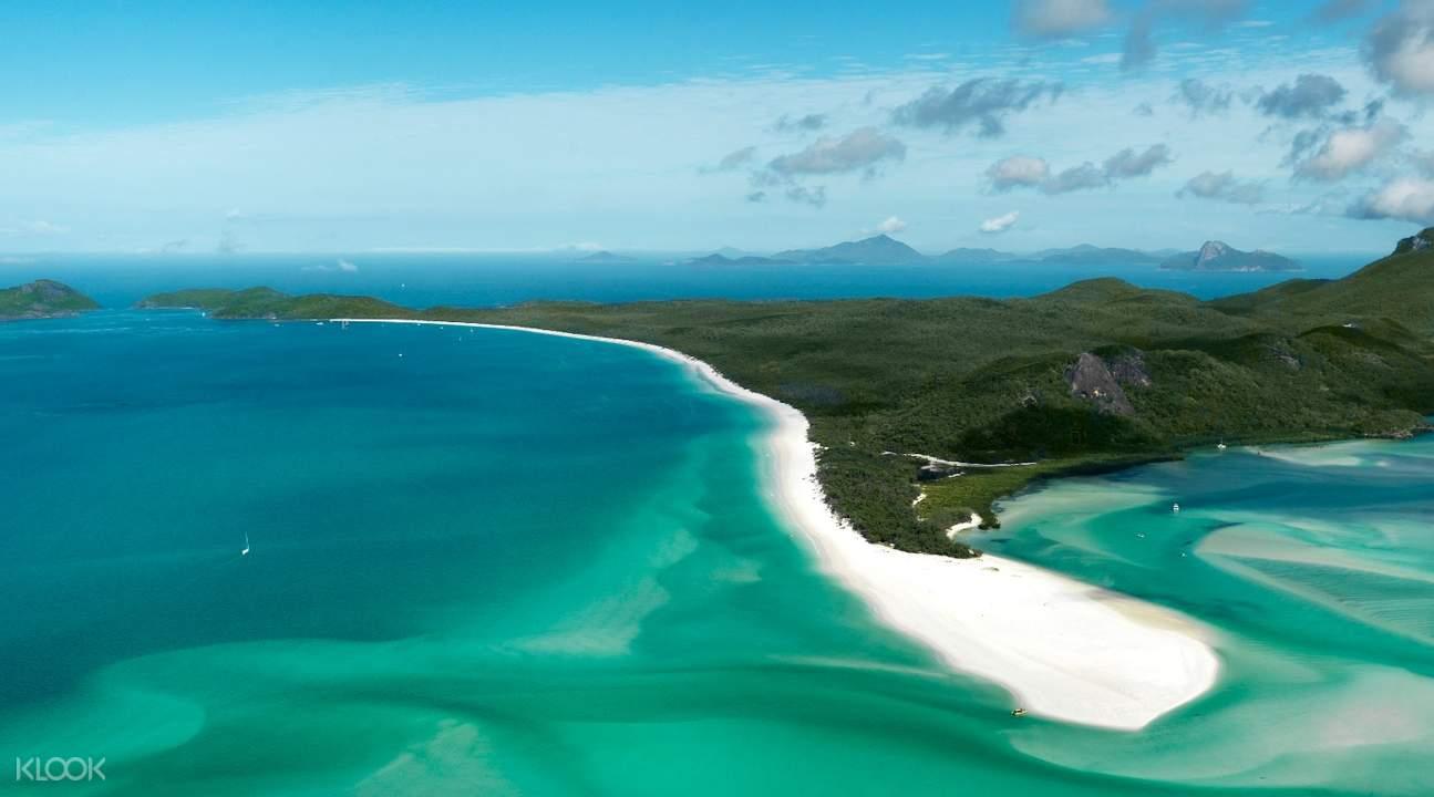 四天三夜汉密尔顿岛白天堂沙滩 & 大堡礁套餐(珊瑚景酒店)