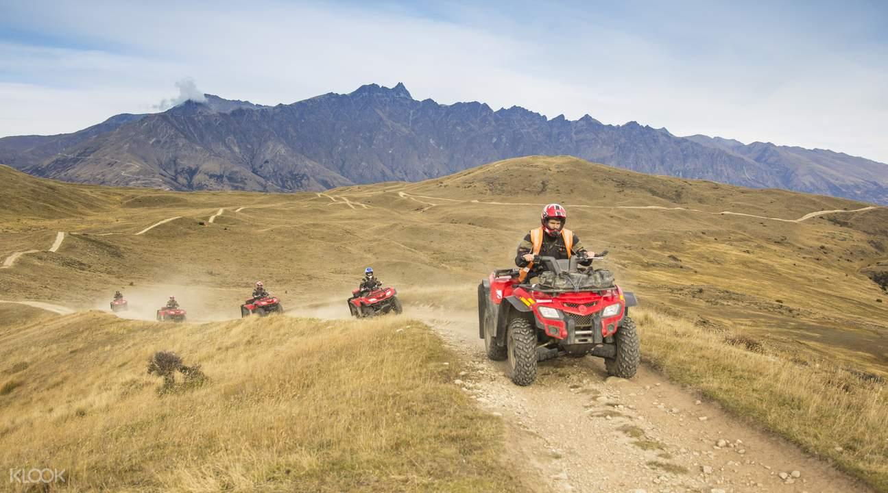 皇后镇全地形四驱摩托车冒险之旅