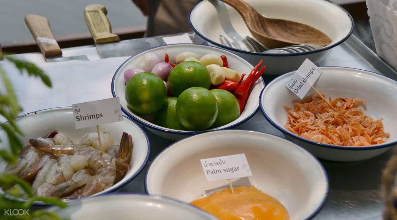 桑普兰河畔传统泰式烹饪课堂