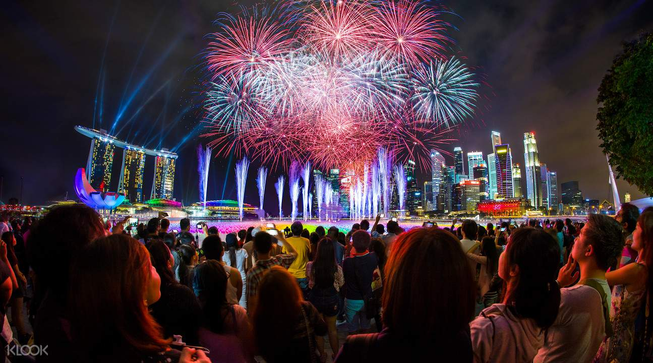 marina bay countdown 2018 singapore
