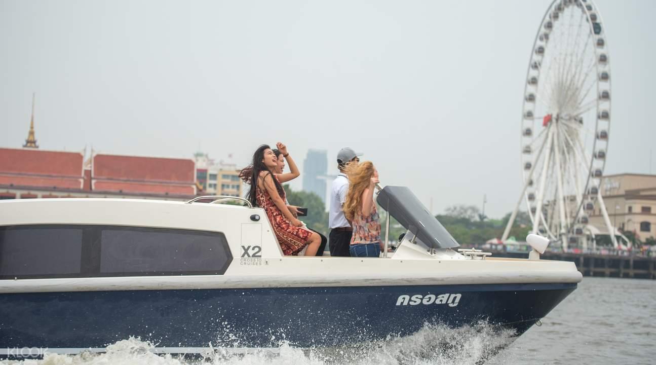 chao phraya cruise by x2