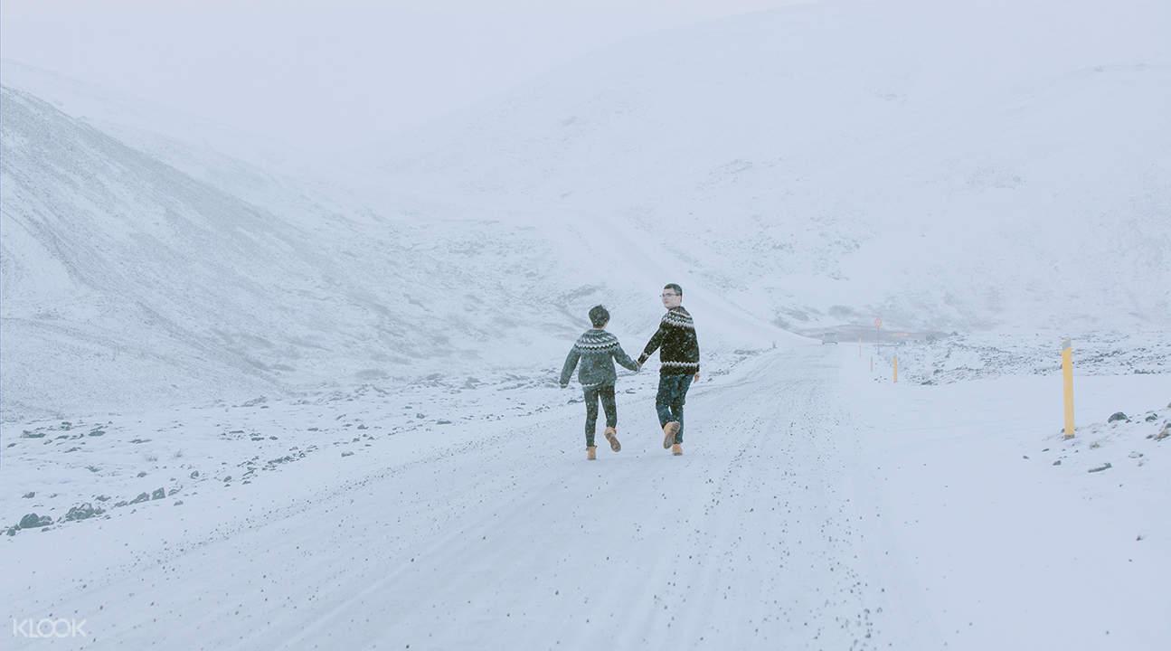 冰島一日婚紗照旅拍