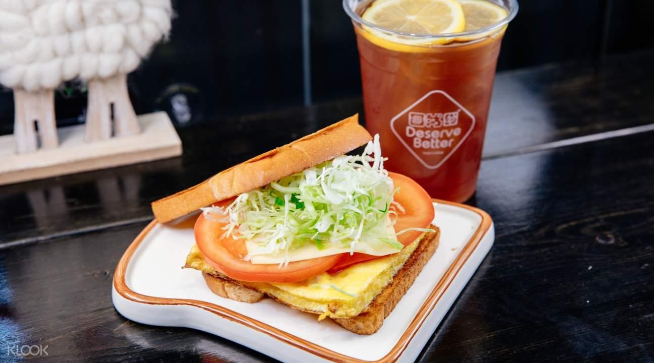 deserve better toast and coffee wan chai hong kong
