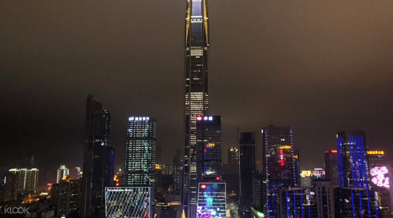 深圳平安金融中心观光