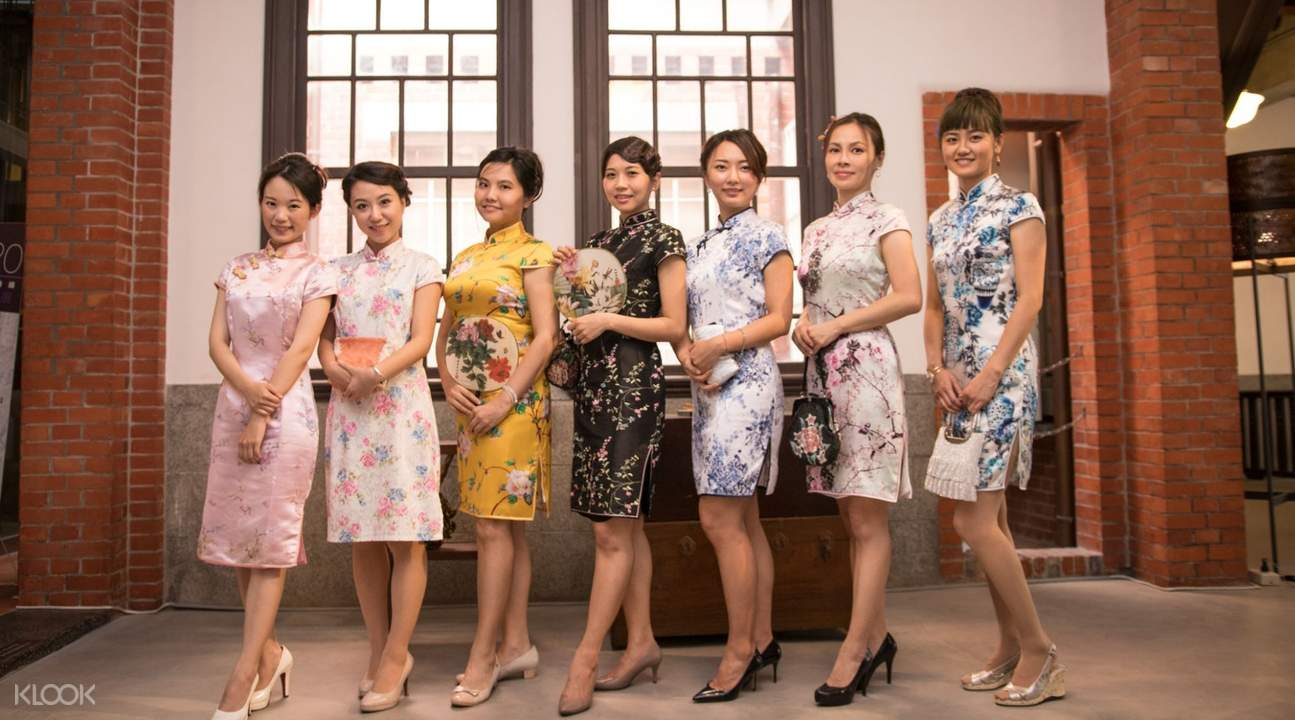 qipao dress rentals taipei