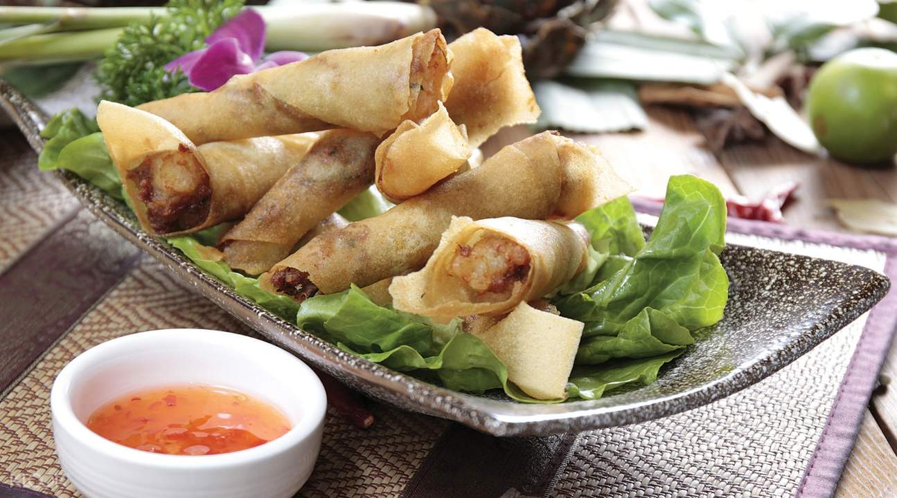thai master restaurant and bar tsim sha tsui hong kong spring rolls