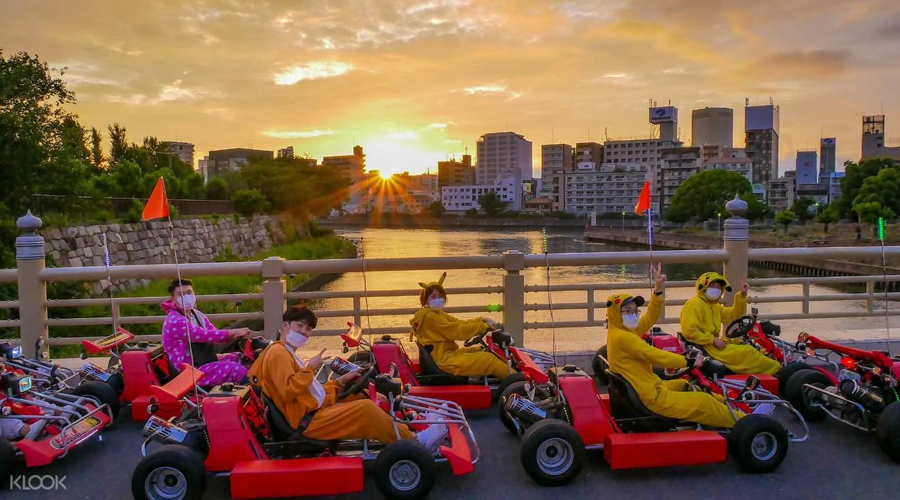 大阪Akiba Kart卡丁車體驗