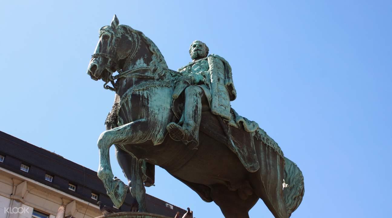 Prince Mihailo statue
