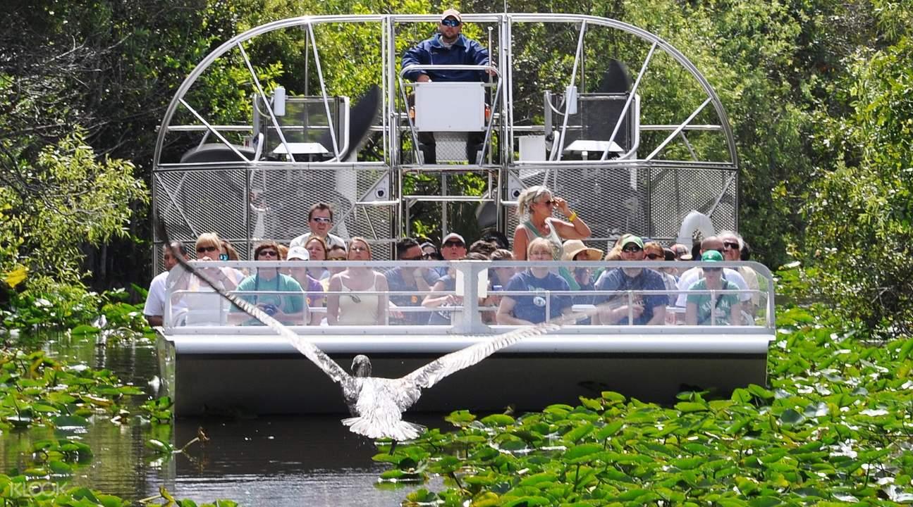 everglades safari park airboat tour