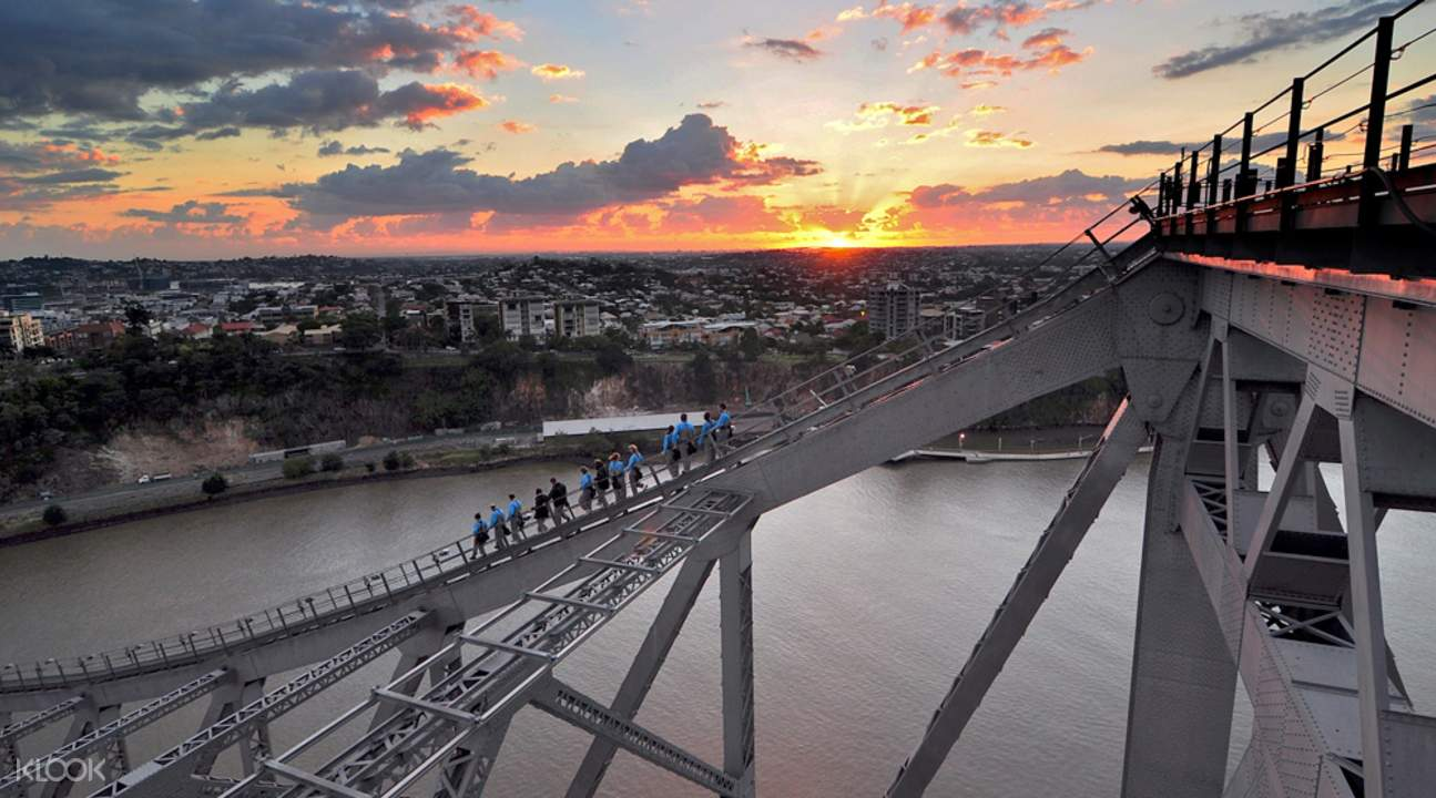 布里斯班故事桥攀爬
