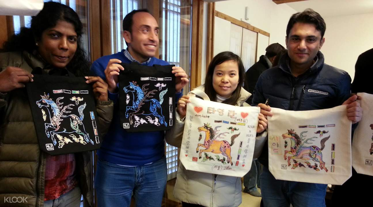 tote bags and t-shirt making seoul