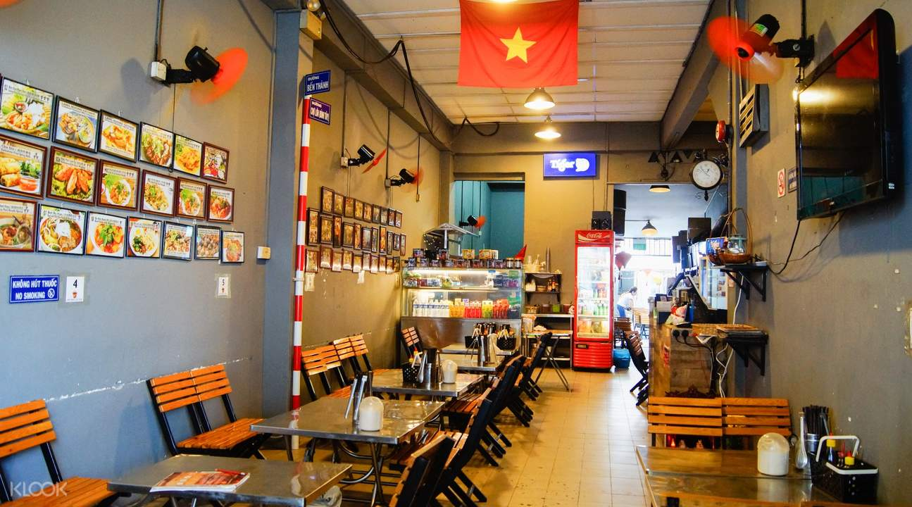 Interior of Lang Nuong Vietnam in Jalan Besar