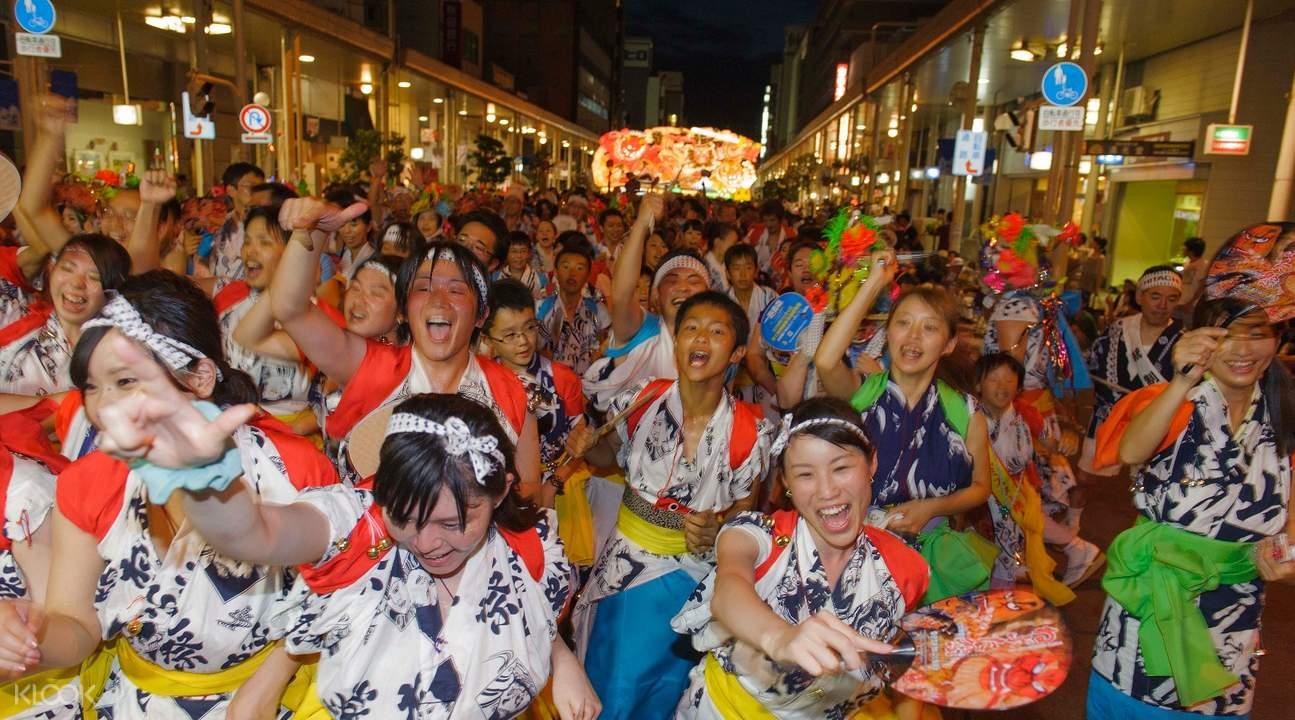 Aomori nebula festival haneto dance