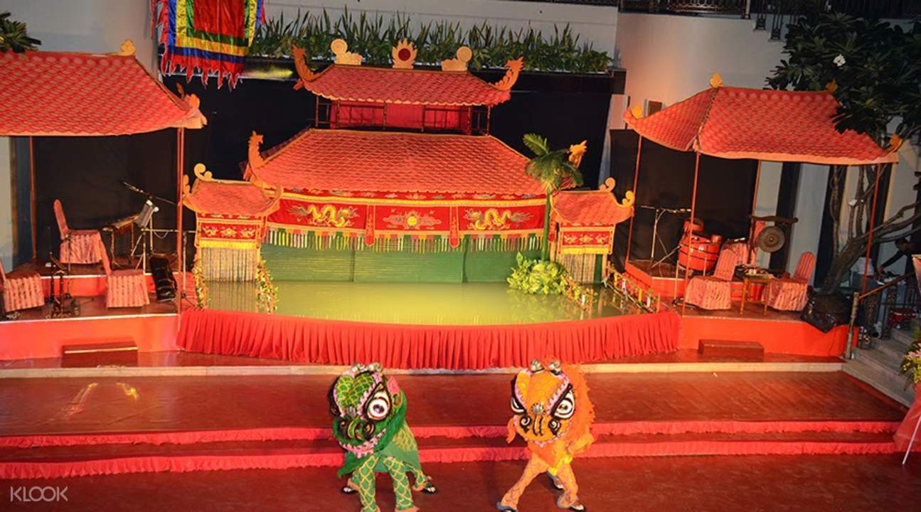 traditional vietnamese puppets