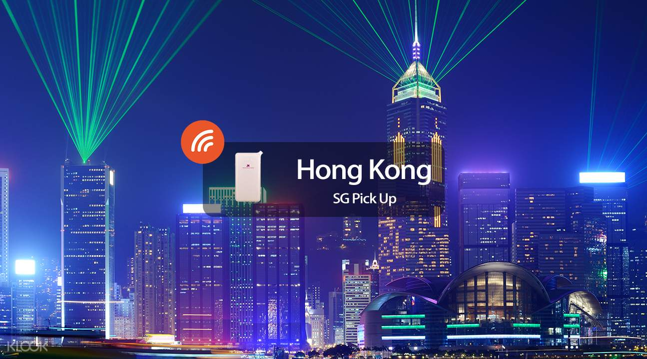 4G WiFi (SG Pick Up) for Hong Kong - Klook