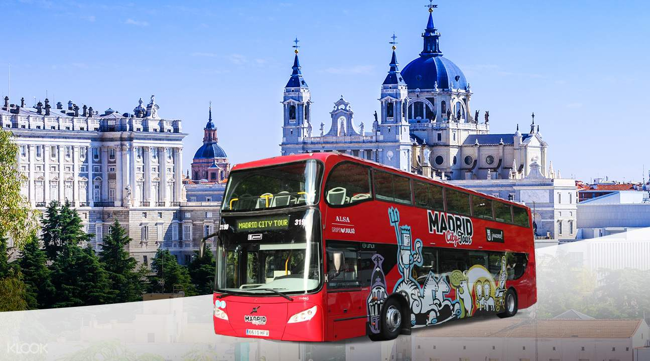 Madrid City Hop On Hop Off Bus  Klook