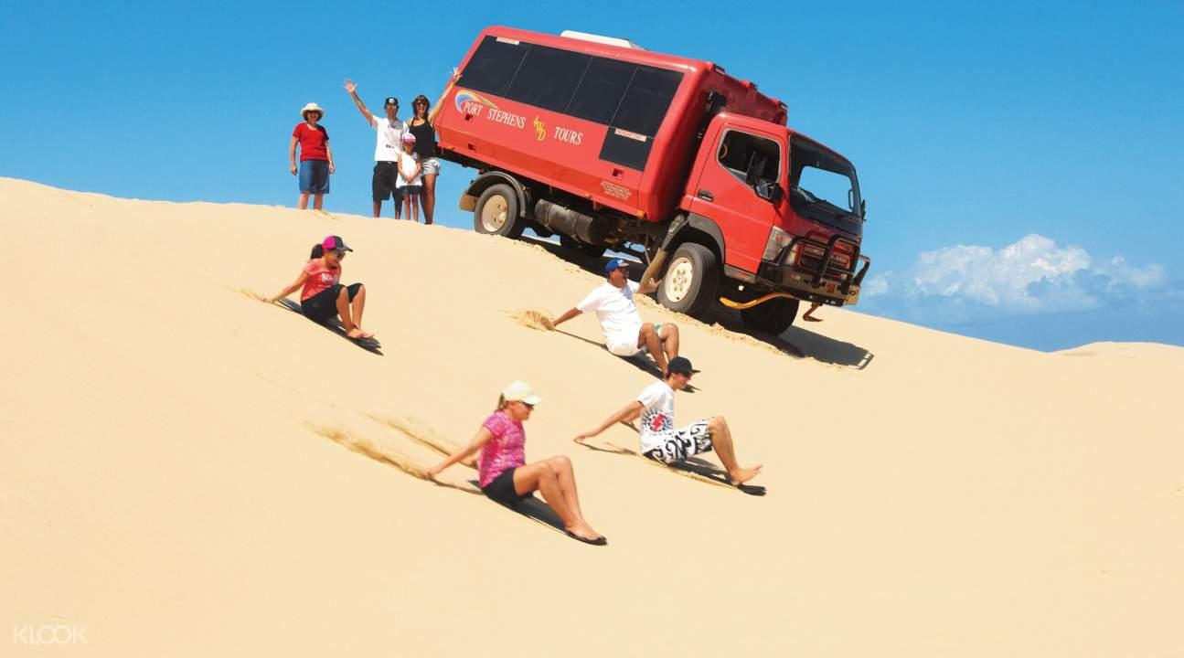 澳洲史蒂芬斯港滑沙體驗,史蒂芬斯港滑沙