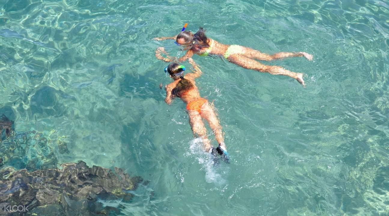 Snorkeling in Vietnam
