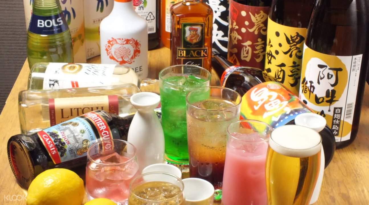 hinasushi buffet tokyo japan