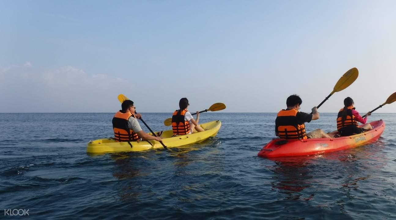 小琉球海上獨木舟體驗