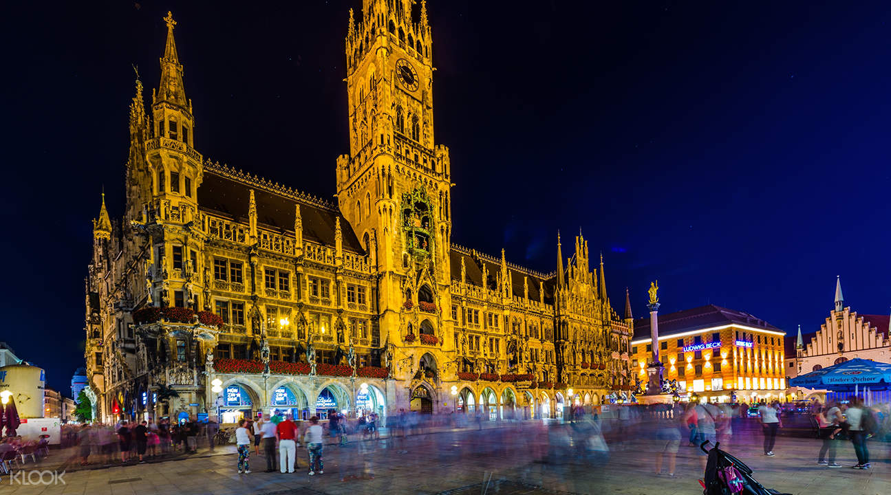 munich night bus tour