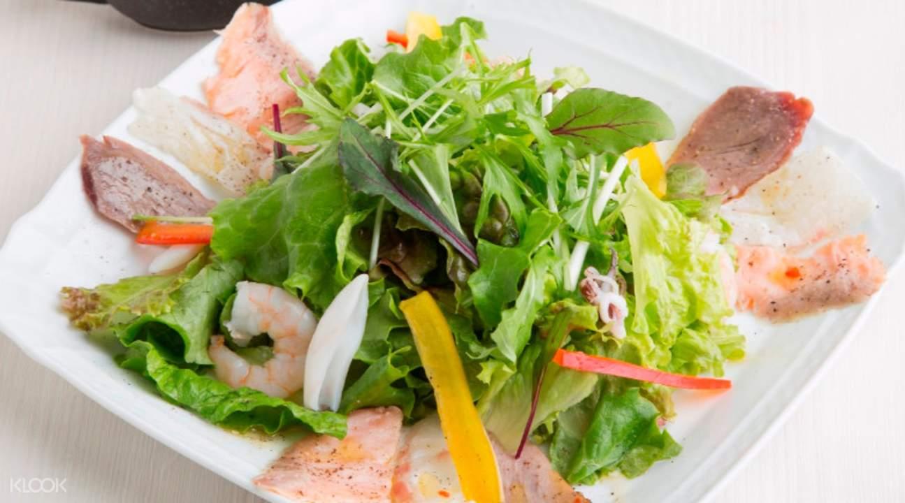 salad Sharaku in Shijo Kawaramachi Kyoto Japan