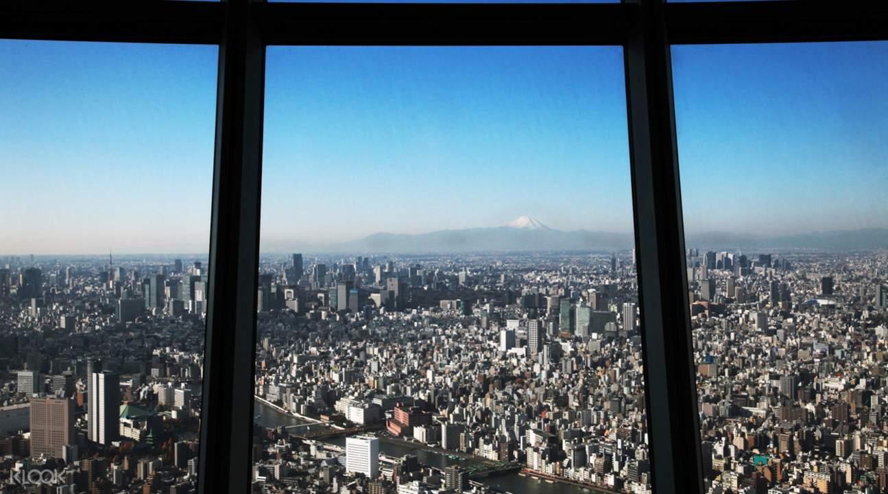 东京晴空塔展望台门票 & 浅草站大楼美食餐券超值套票