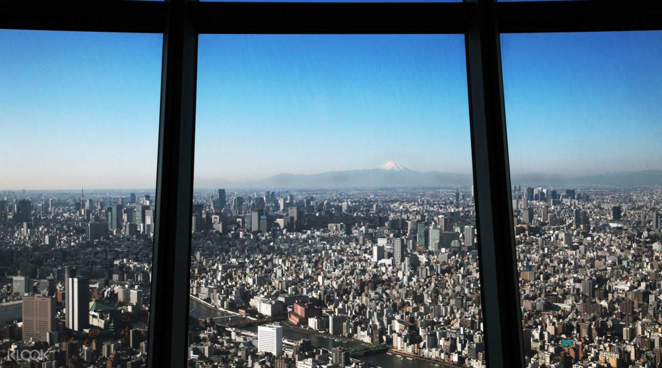 東京晴空塔展望台門票& 淺草站大樓美食餐券超值套票