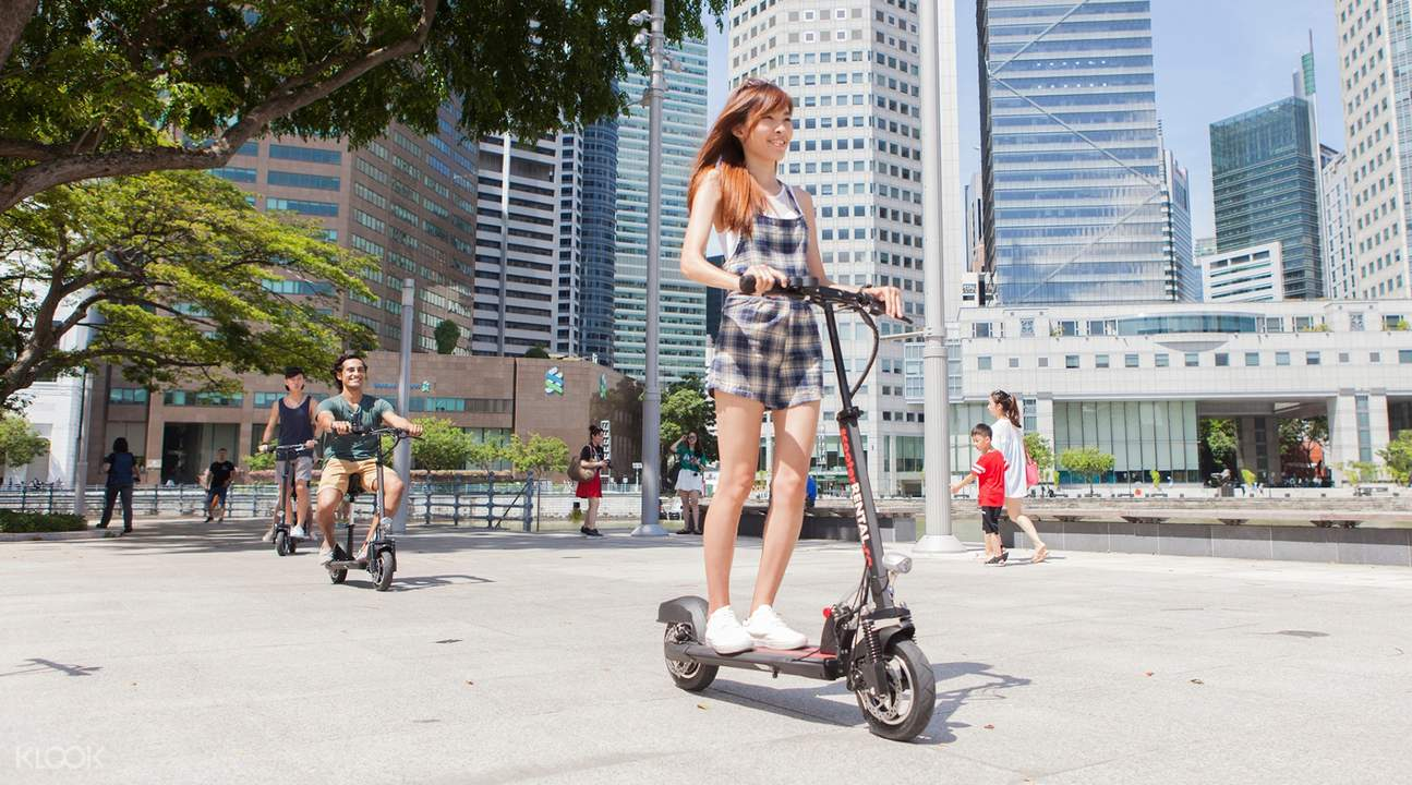 Singapore E-Scooter Rental - Klook