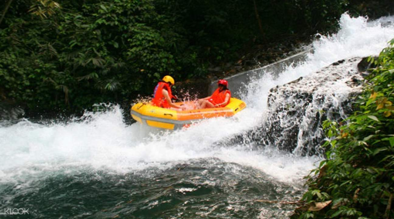 rafting in guangdong, qingquan bay eco resort, water parks with rafting in guangdong,