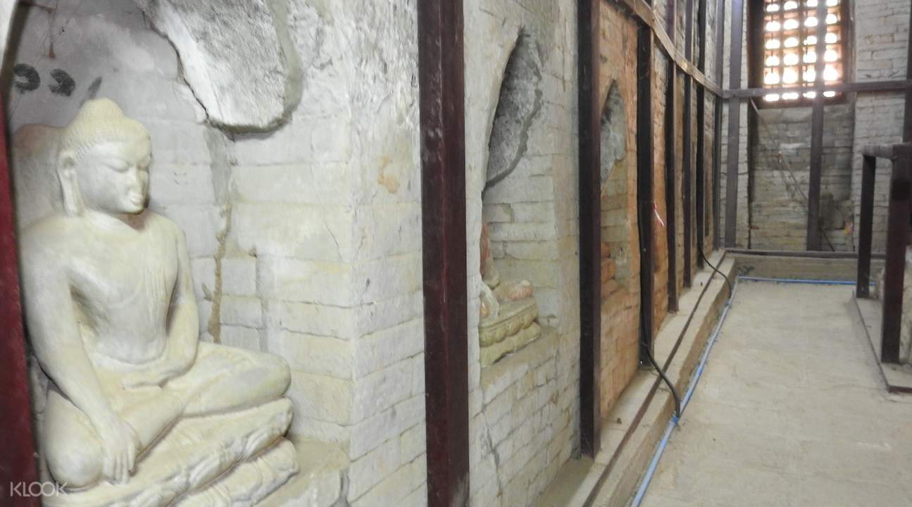 缅甸蒲甘Kyauk Gu U Min寺庙石雕