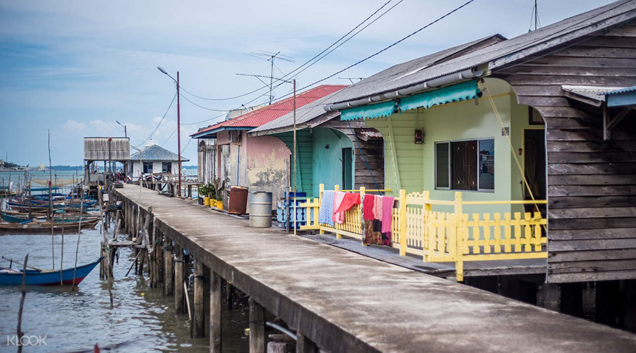Sengarang floating village